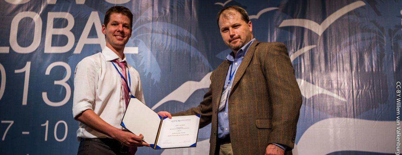 TU Delft receives two OCW Awards