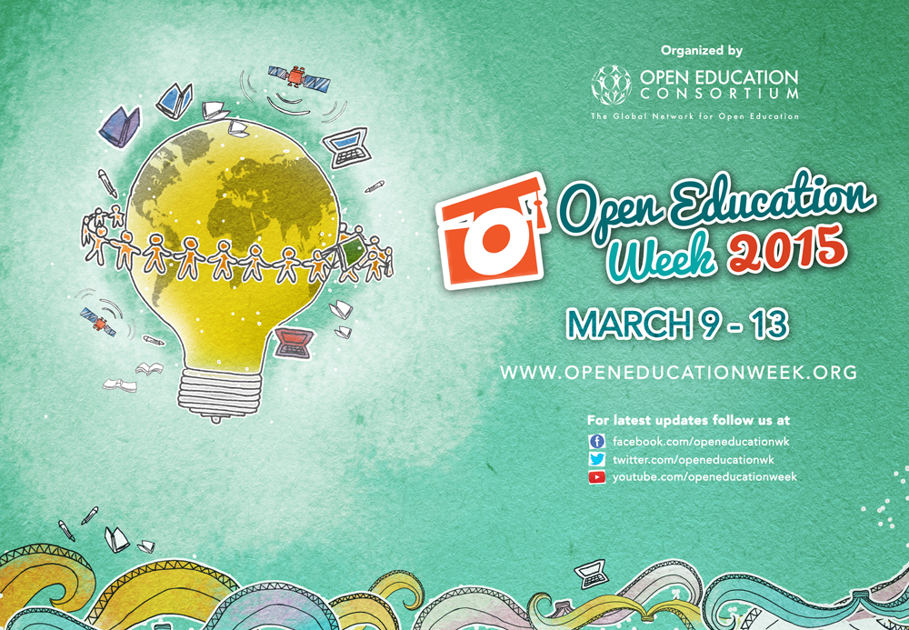Open Education Week 2015 is coming up!