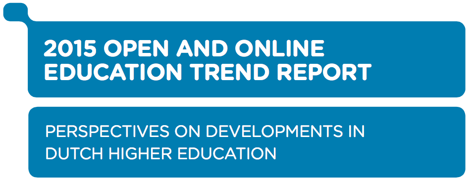 Trend Report Open Education 2015