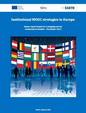 Institutional MOOC strategies in Europe