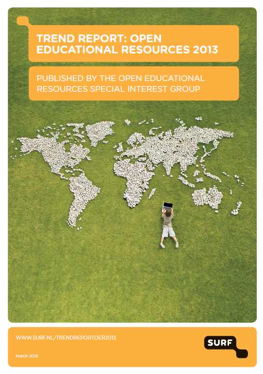Cover of the OER Trend Report 2013