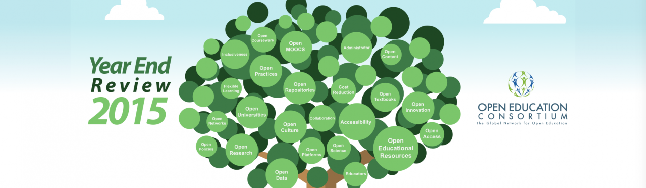 Open Education Consortium: 2015 in Review