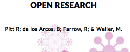 Open Research Open Textbook