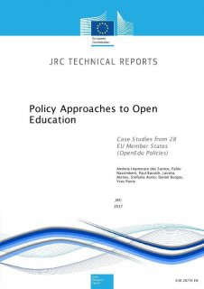 Policy Approaches to Open Education