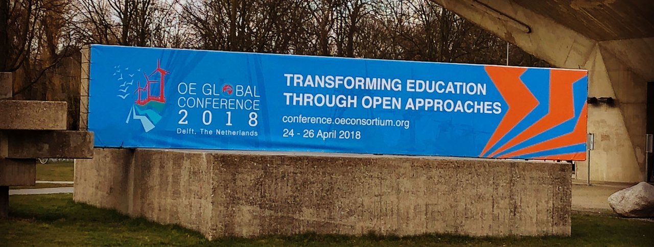 Three weeks to OEGlobal18