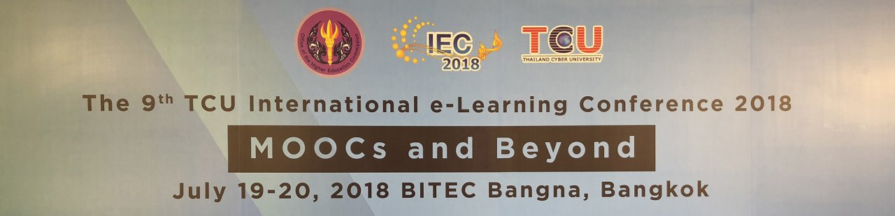 Thailand International e-Learning Conference 2018